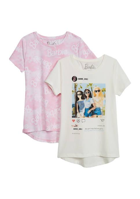 Barbie Girls 7-16 2 Pack T-Shirts