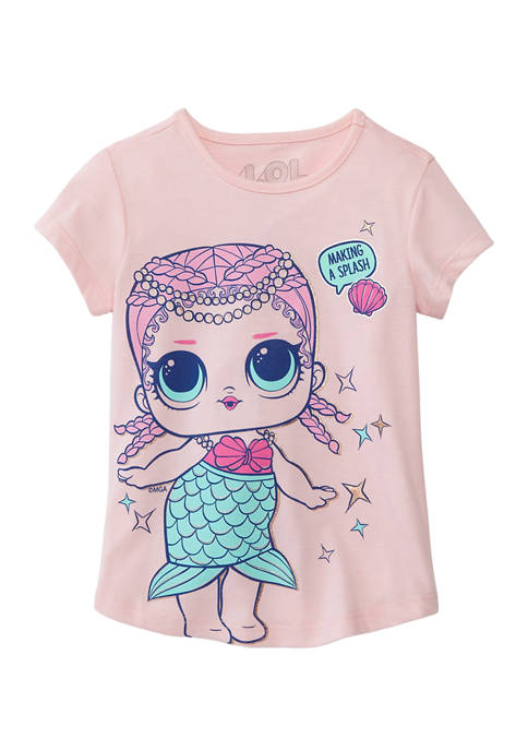 LOL Surprise Girls 4-6x Short Sleeve Graphic T-Shirt