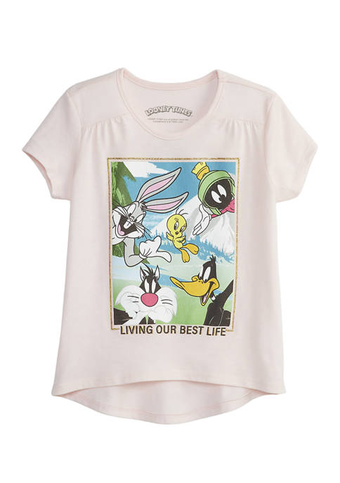 Girls 4-6x Tweety and Crew Graphic T-Shirt