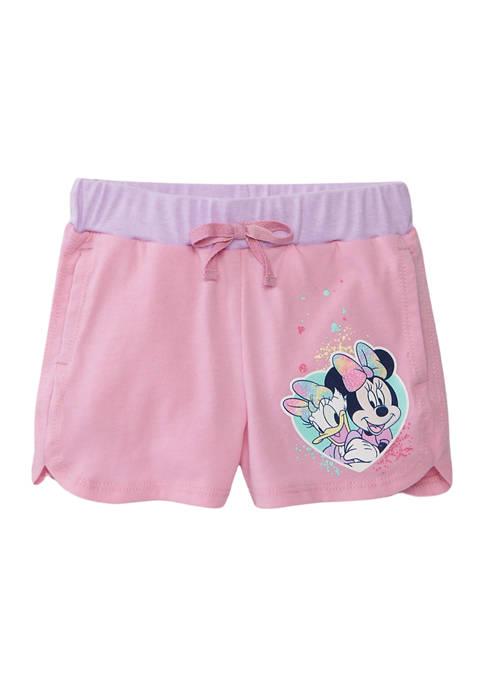 Disney® Minnie Girls 4-6x Dolphin Hem Shorts