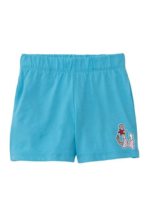 Disney® Minnie Girls 4-6 Nautical Bike Shorts