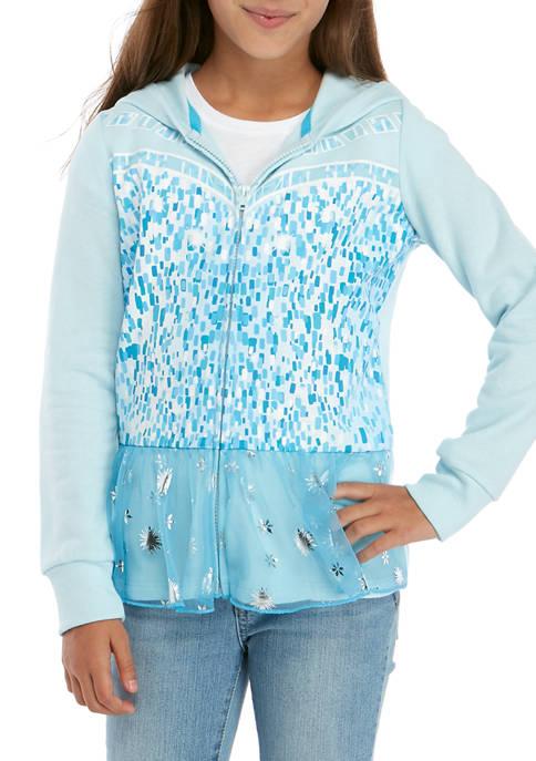 Disney® Frozen Girls 7-16 Elsa Cosplay Full Zip
