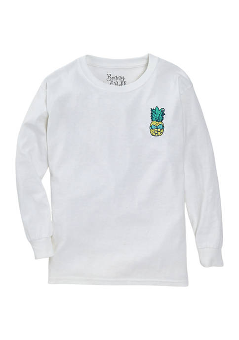 Benny & Belle Girls 7-16 Long Sleeve Sweetness