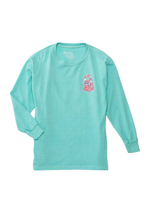 Benny & Belle Girls 7-16 Long Sleeve Christmas