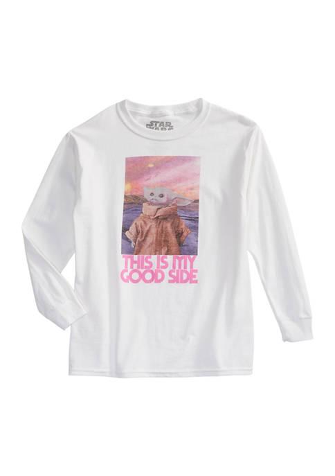 Girls 7-16 Good Side Long Sleeve T-Shirt