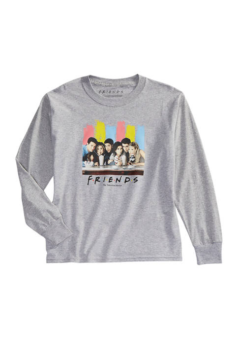Friends Girls 7-16 Long Sleeve Character Graphic T-Shirt