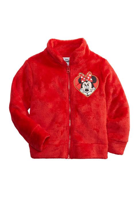 Disney® Minnie Girls 4-6x Minnie Woobie Jacket