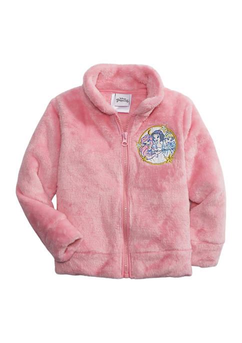 Disney® Princess Girls 4-6x Princess Woobie Jacket