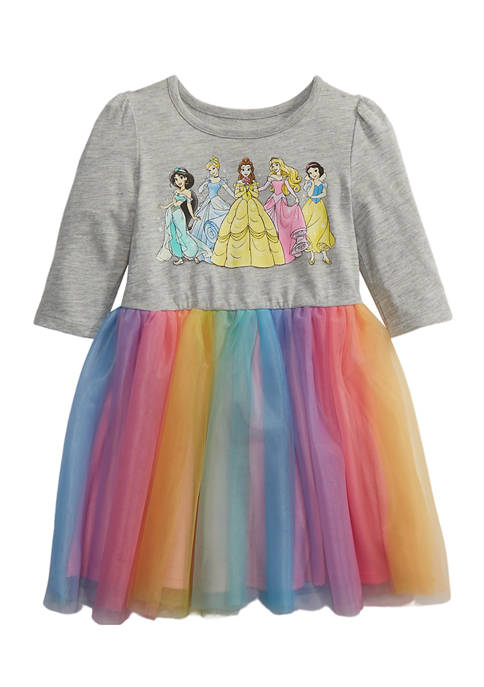 Disney® Princess Girls 4-6x Long Sleeve Dress with