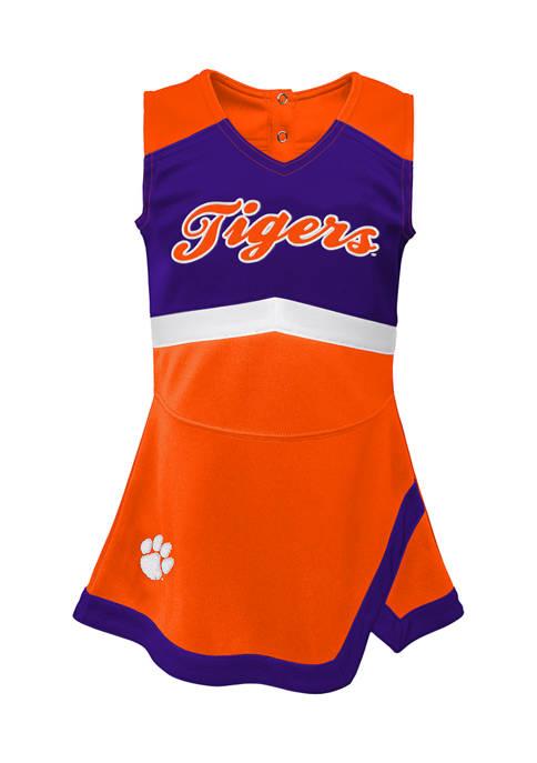 Girls 7-16 NCAA Clemson Tigers Cheer Captain Dress