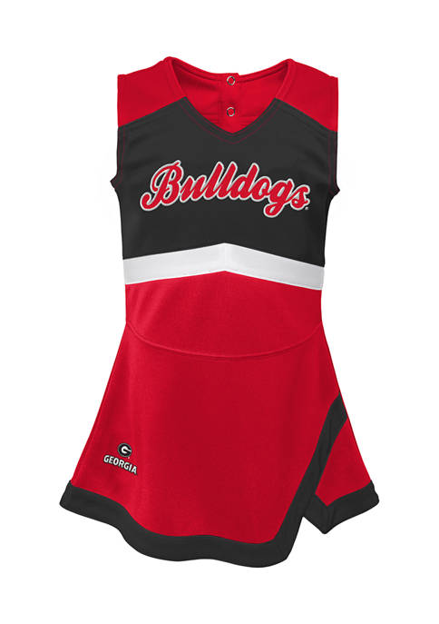 Girls 7-16 NCAA Georgia Bulldogs Cheer Captain Dress