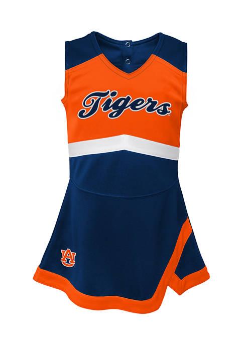 Girls 7-16 NCAA Auburn Tigers Cheer Captain Dress