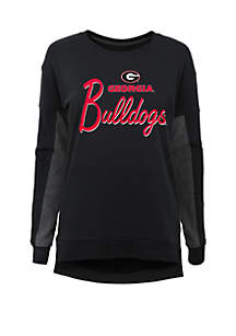 Girls 7-16 Georgia Bulldogs Long Sleeve T-Shirt