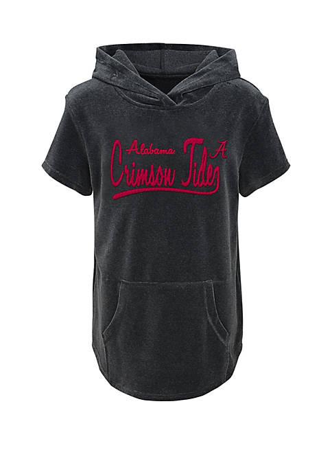 Gen2 Girls 7-16 Alabama Crimson Tide Velour Hoodie