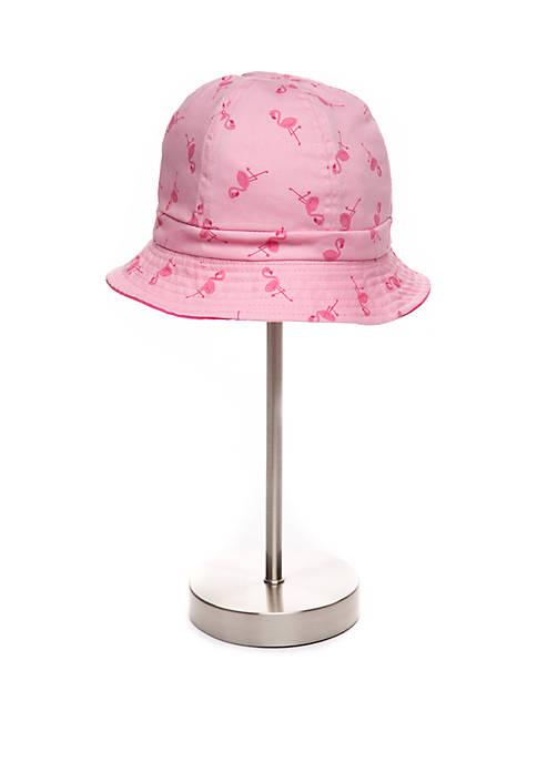 Toddler Girls Flamingo Swim Hat