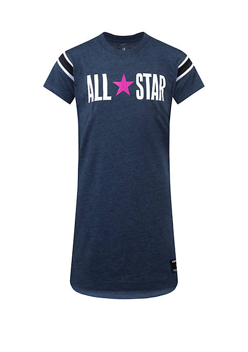 Converse Girls 7-16 Yarn Dye Jersey Short Sleeve