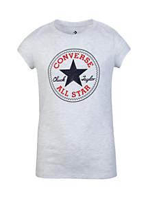 Converse Girls 7-16 Chuck Patch Short Sleeve Tee