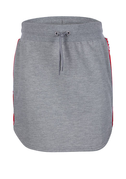 Converse Girls 7-16 Round Hem Skirt with Taping