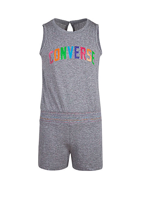Converse Girls 7-16 Multicolored Romper