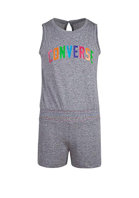 Converse Girls 7-16 Multicolored Romper