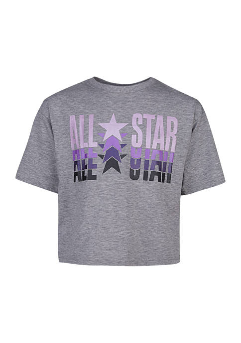 Converse Girls 7-16 All Star Boxy T-Shirt