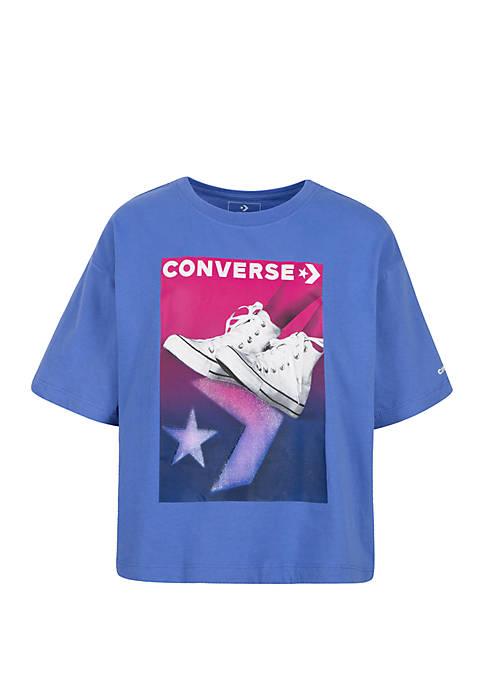 Converse Girls 7-16 Gradient Chuck Stance T Shirt