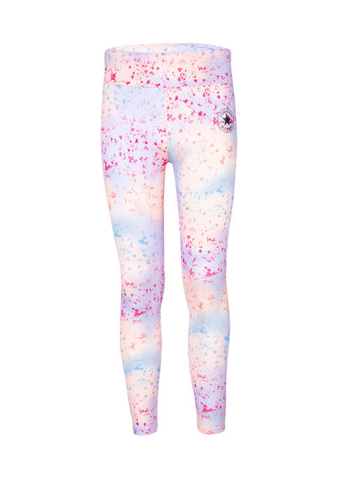 Converse Girls 7-16 High Rise Printed Leggings