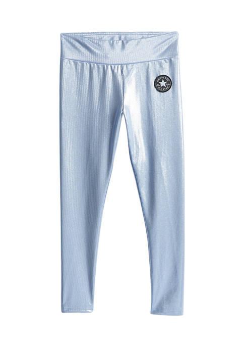 Converse Girls 7-16 High Rise Foil Pants