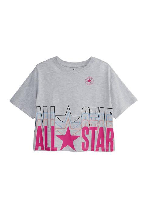 Girls 7-16 All Star Boxy T-Shirt