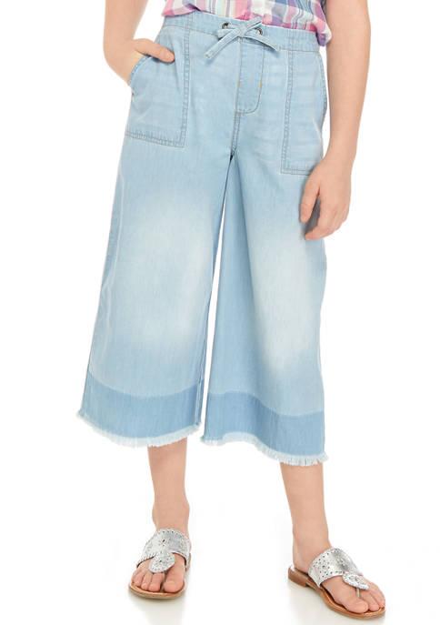 Juniors Girls 7-16 Cropped Pants