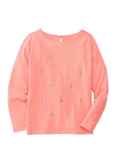 Girls 7-16 Long Sleeve T-Shirt