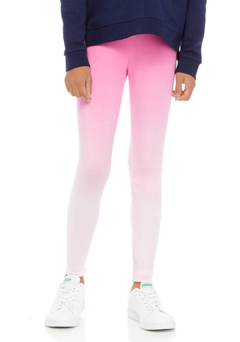 Crown & Ivy™ Girls 7-16 Dip Dye Leggings