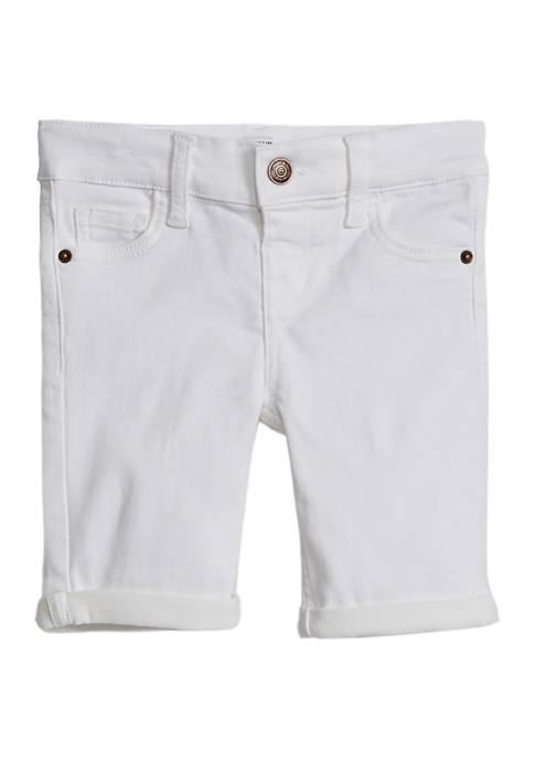 Crown & Ivy™ Girls 4-6x Knit Bermuda Shorts