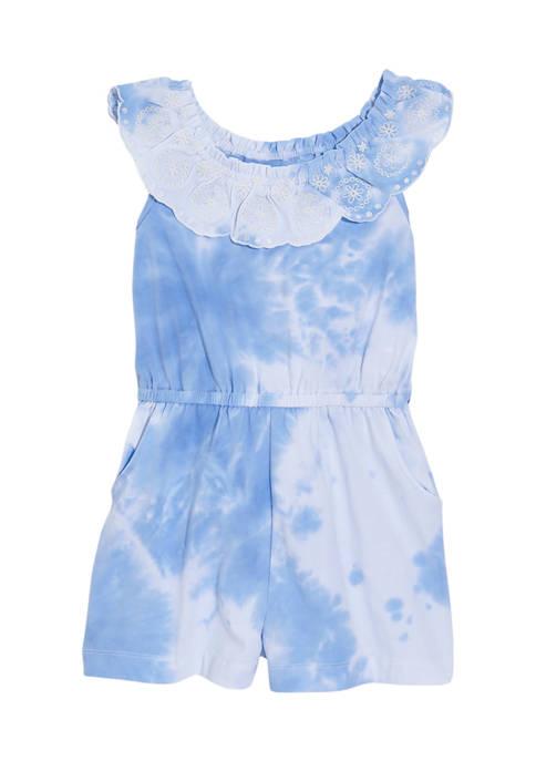 Crown & Ivy™ Girls 4-6x Tie Dye Ruffle