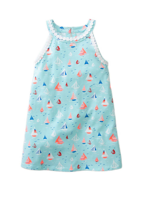 Crown & Ivy™ Girls 4-6x Knit Halter Dress
