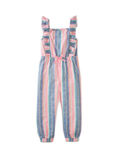 btween Girls 4-6x Ruffle Jumpsuit