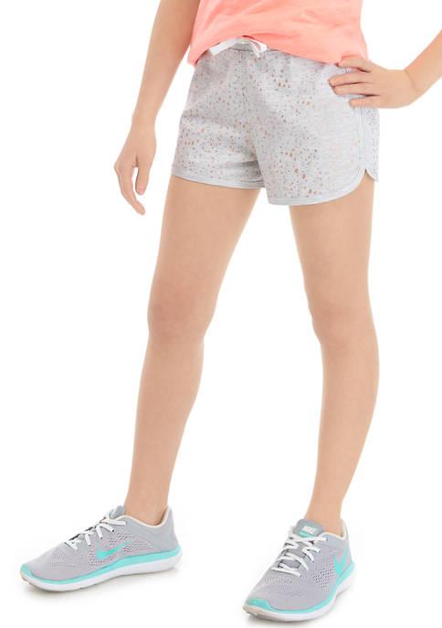 Girls 7-16 Dot Shorts