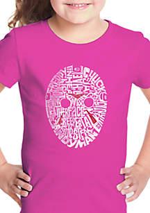 aed97eed8 ... Short Sleeve Graphic Tee · LA Pop Art Girls 7-16 Word Art T Shirt -  Slasher Movie Villains