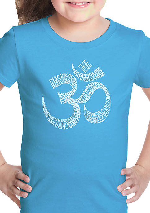 Girls 7-16 Word Art Graphic T-Shirt - Poses OM