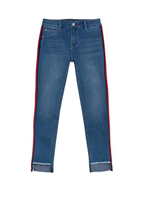 Tommy Hilfiger Girls 7-16 Skinny Step Up Jeans