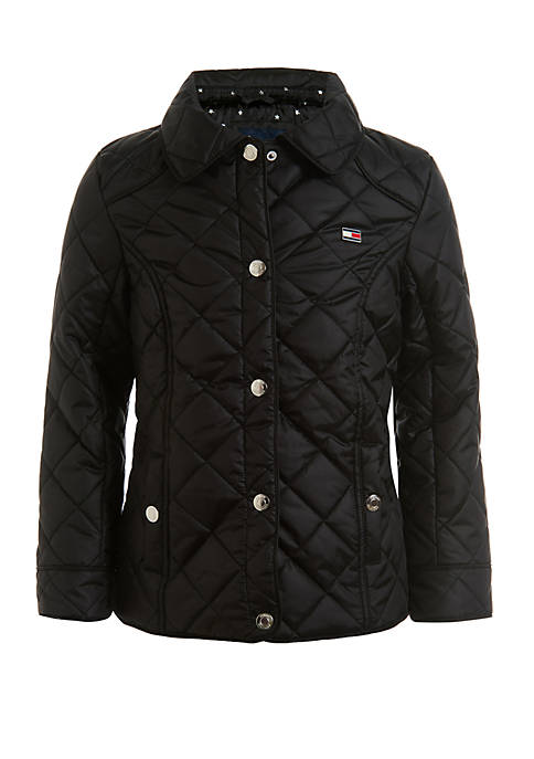 Tommy Hilfiger Girls 7-16 Diamond Quilted Barn Jacket