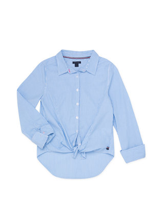 Tommy Hilfiger Girls Ithica Stripe Shirt