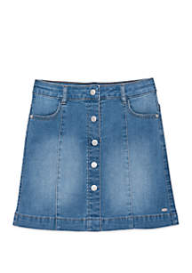 Tommy Hilfiger Girls 7-16 Denim Skirt