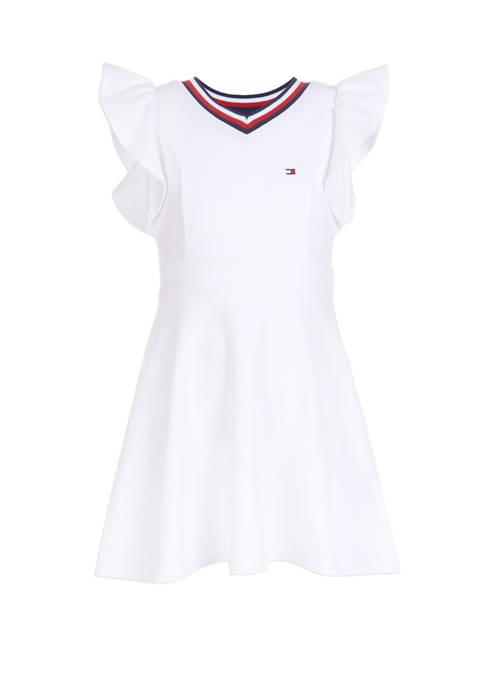 Girls 7-16 Ruffle Dress