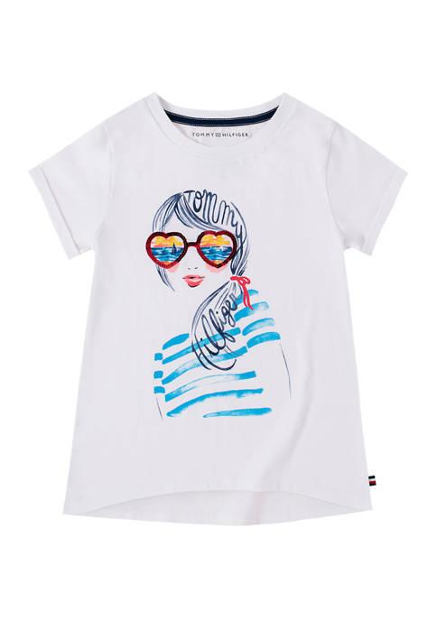 Girls 7-16 Sunset Dream Girl T-Shirt