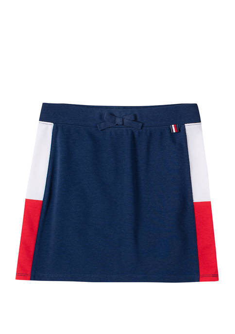 Girls 7-16 Color Block Skirt
