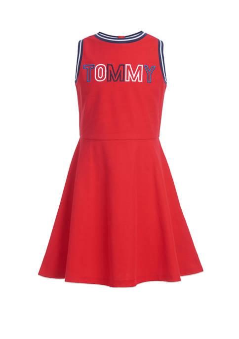 Girls 7-16 Graphic Tank Dress