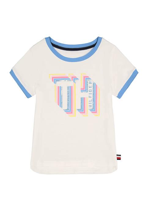 Girls 7-16 Ringer T-Shirt