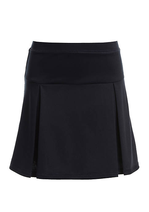 Girls 7-16 Sensory Performance Pleated Scooter Skort