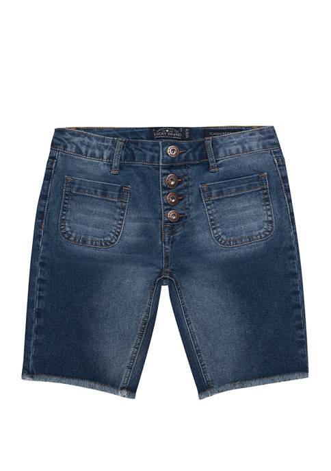 Girls 7-16 Vera Bermuda Shorts